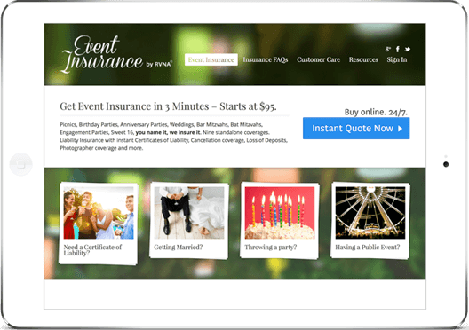 Private Event Insurance