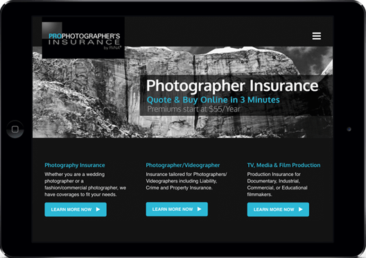 Photographer/Videographer Insurance