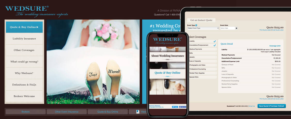 Wedsure wedding insurance